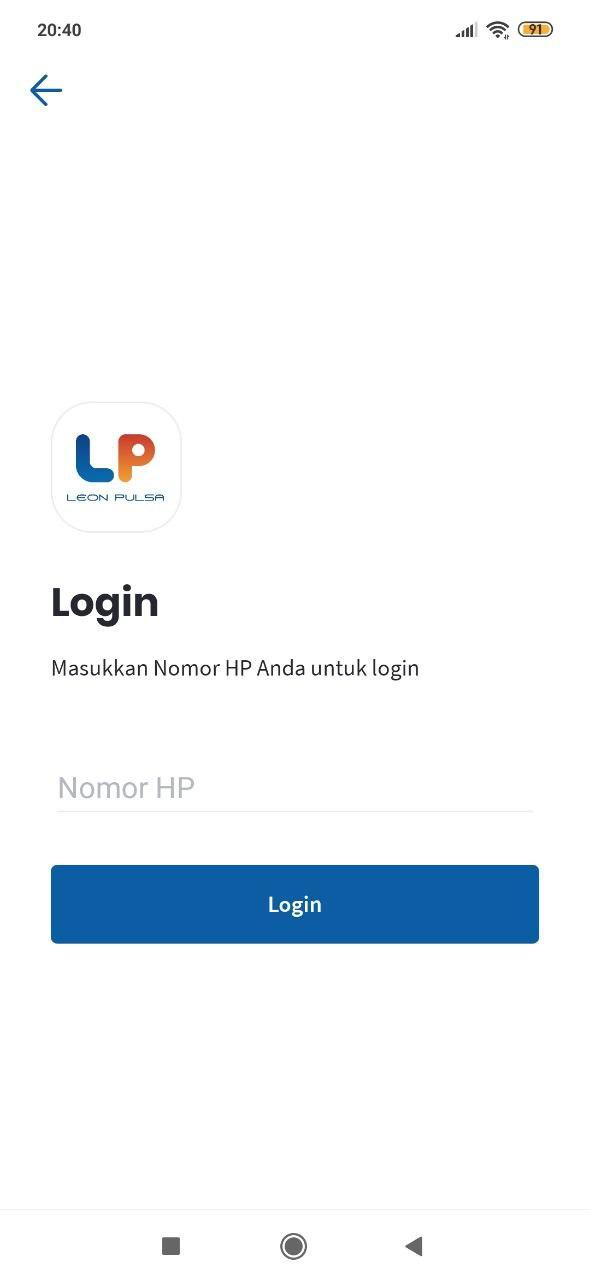 Cara Login Apk Leon Reload